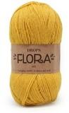 Пряжа Drops Flora 17 желтый