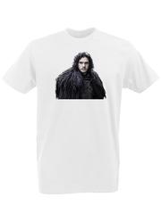 Футболка с принтом Игра престолов (Game of Thrones) белая 0002