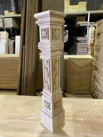 Столб для лестницы из ясеня