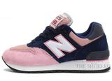 Кроссовки Женские New Balance 670 Pink Dark Blue White