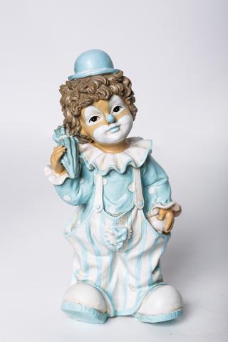 Декоративная фигурка. Клоун с зонтиком.