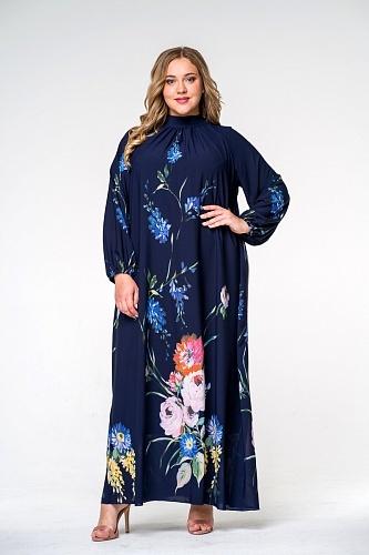 Платья Платье с воротником стойка 140207 8be8812eb949a537ffca0d6ad87950fb.jpg