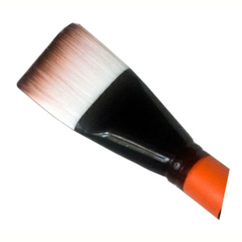 MEHRON Большая плоская кисть для аквагрима Mark Reid™ Signature Brushes – Body Square, (38 мм)