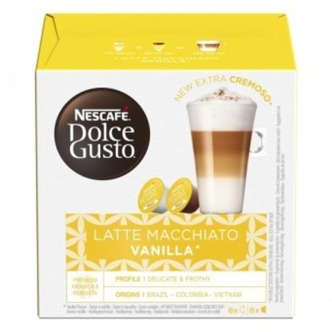 Кофе в капсулах Nescafe Dolce Gusto Latte Macchiato Vanilla 8 порций (16 капс.)