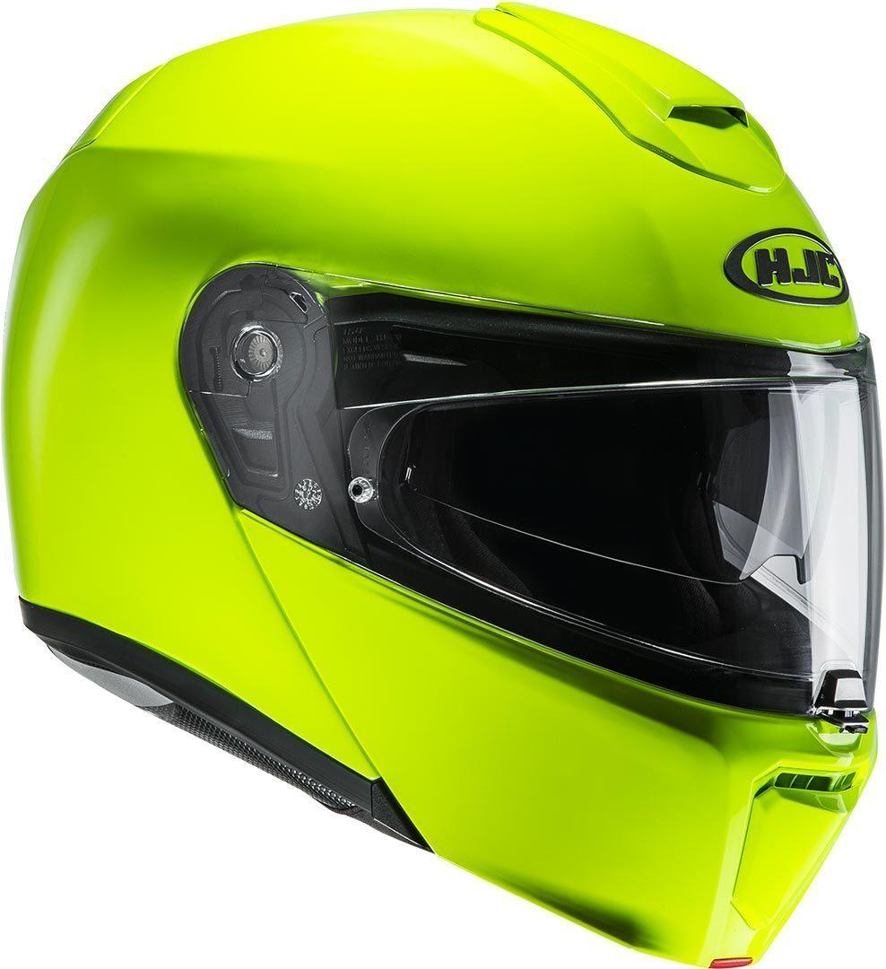 HJC I90 FLUORESCENT GREEN
