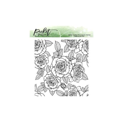 Штамп -Picket Fence Studios - Roses For All Seasons - Stamp
