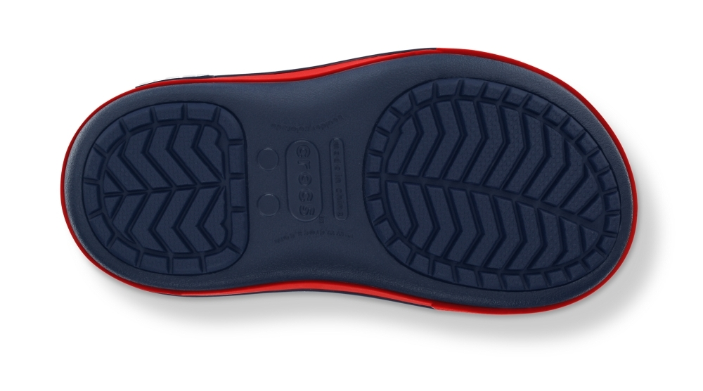 Фото Kids' Crocband™ II.5 Gust Boot Navy/Red - детские кроксы