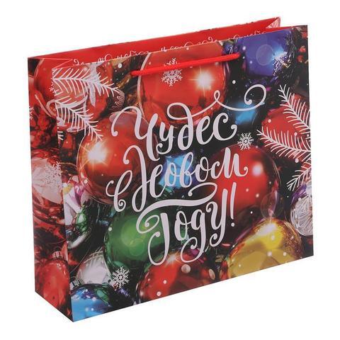 Пакет «Чудес в наступающем году», 31×40×9 см