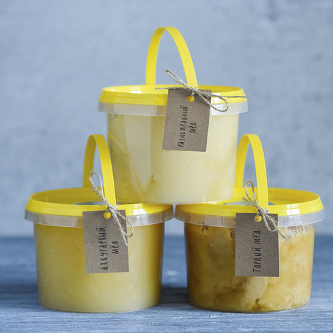 Высокогорный мед. 2020 г. (1 кг)