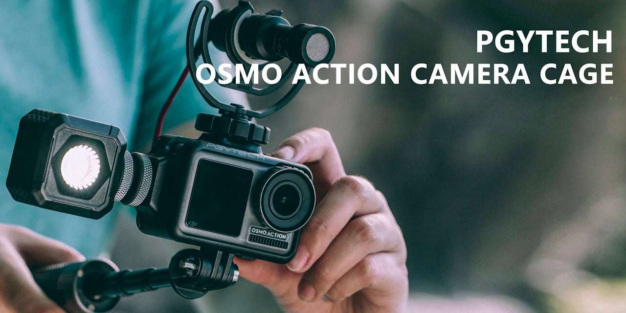 Клетка PGYTECH OSMO Action Camera Cage