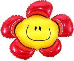 F Фигура, Цветочек (солнечная улыбка) красный, 41