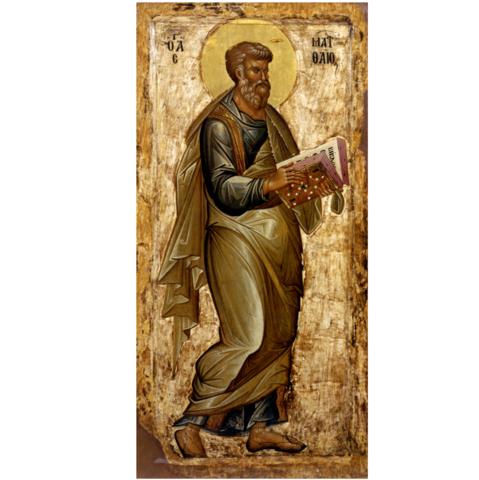 Икона святой Апостол Матфей на дереве на левкасе мастерская Иконный Дом