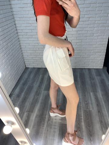 белая юбка с завышенной талией недорого