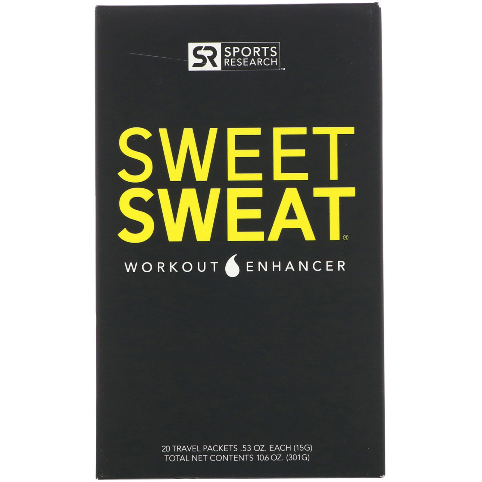 Мазь Sweet Sweаt Gym Packet Box (20 упаковок по 15 гр.) для снижения и контроля веса