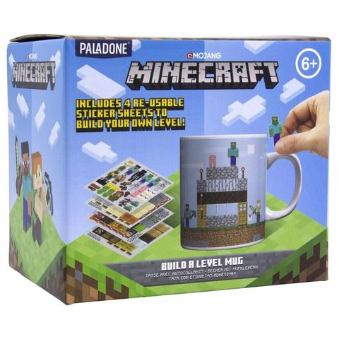 Кружка Minecraft Build a Level