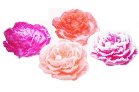 Мыльное ассорти/цветок 3D ПИОН, 90g TM ChocoLatte