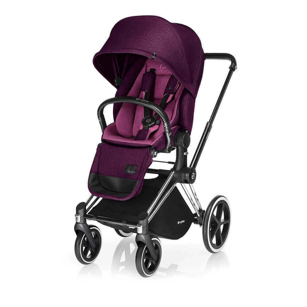 Цвета Cybex Priam прогулочная Прогулочная коляска Cybex Priam Lux Mystic Pink шасси Chrome/Trekking cybex-priam-mystic-pink-lux-seat.jpg
