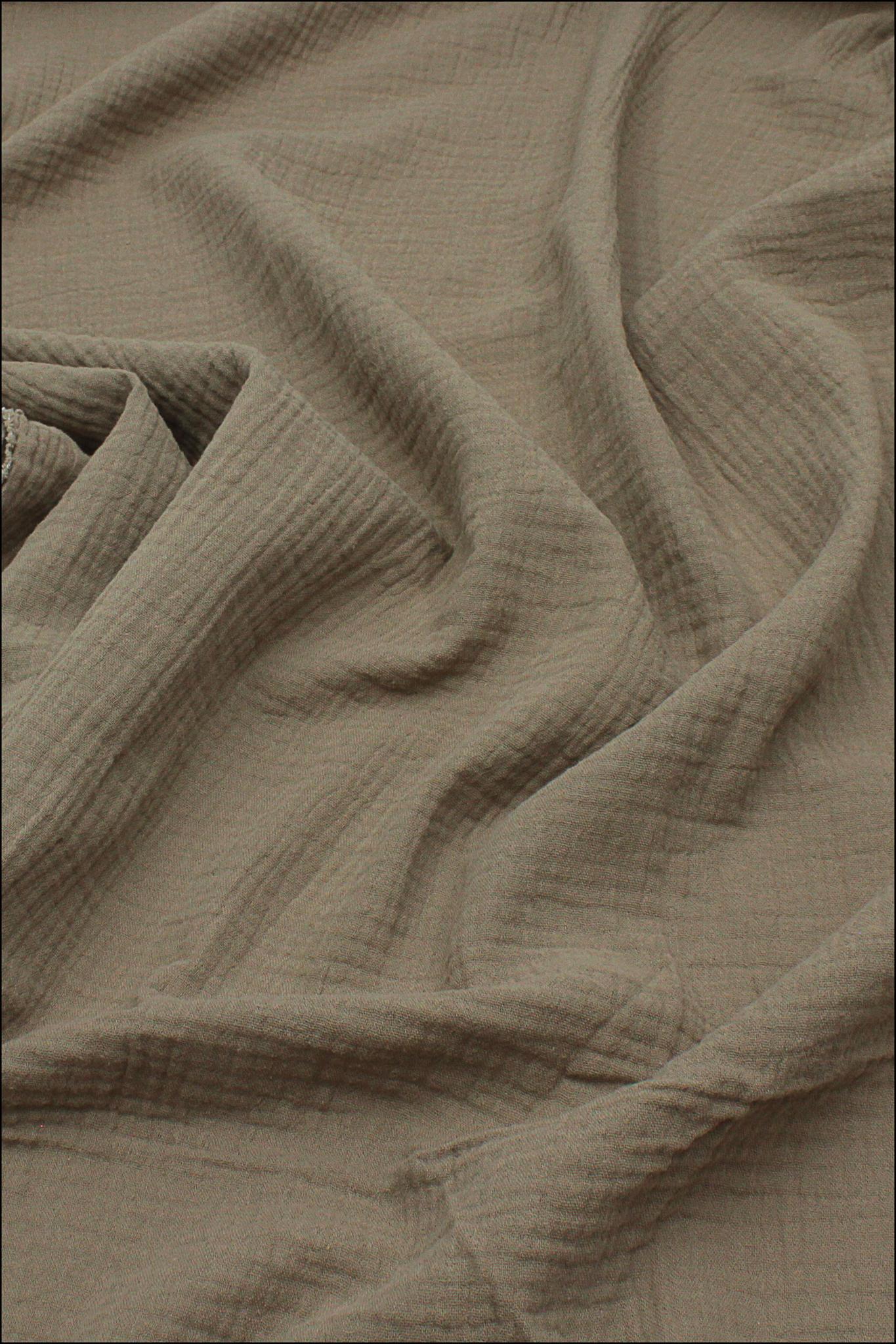 Ткань муслиновая, мокрый песок