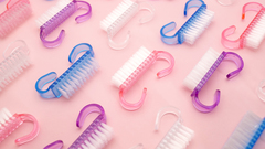 Щеточка маленькая для удаления пыли, цвет розовый, 2шт в упаковке