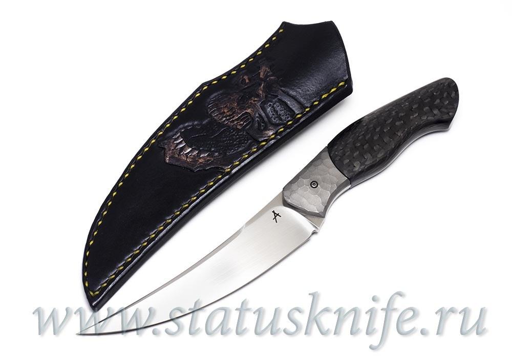 Нож Jinn CPM20CV CF Р. Гайнутдинов - фотография