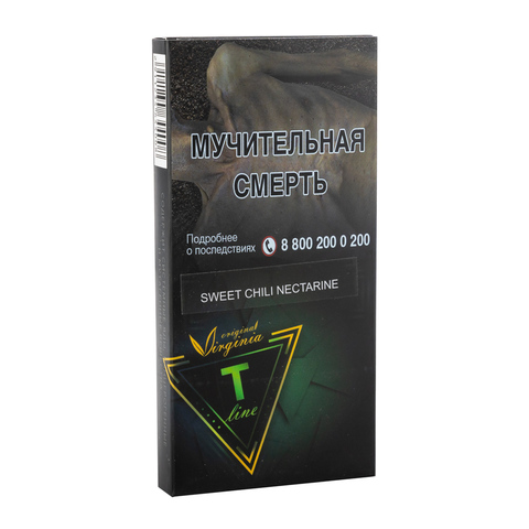 Табак Virginia T-Line Sweet Chili Nectarine 100 г
