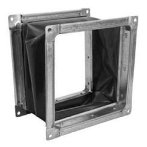 Гибкая вставка 280х280мм с фланцем для вентилятов ВР 300-45 4,0 и ВЦ 14-45-4,0