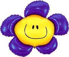 F Фигура, Цветочек (солнечная улыбка) фиолетовый, 41