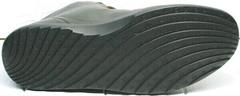 Осенние мужские ботинки кеды на толстой подошве Ikoc 1770-5 B-Brown.