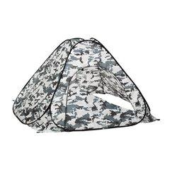 Зимняя палатка автомат Premier Fishing 1,8х1,8 м, камуфляж, без пола (PR-TNC-036-1.8)