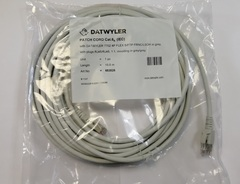 Кабель патч-корд Datwyler Cables 10 метров вилка RJ-45, вилка RJ-45, Patch cable RJ45 Cat.6A (IEC) серый, 652026