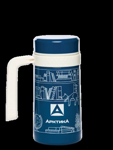 Термокружка автомобильная Арктика (412-500 автокружка-термос синяя) 0,5 литра, синяя