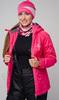 Женский утеплённый прогулочный лыжный костюм Nordski Motion Raspberry