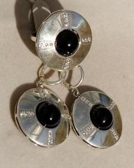 Намака (кольцо + серьги из серебра)