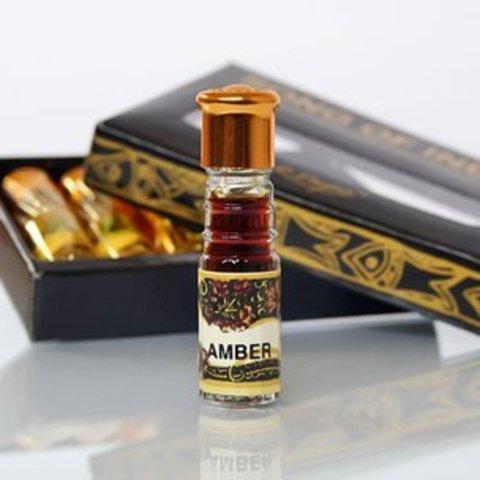 Масло парфюмерное Янтарь Amber 2,5 мл