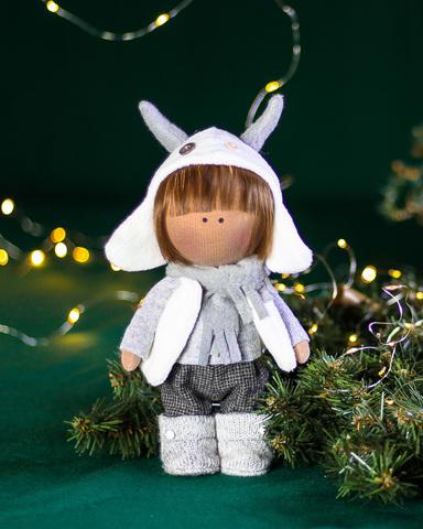 Лялька Катерина. Різдвяна серія La Petite Вертеп -коза
