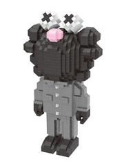 Конструктор Wisehawk & LNO Х Кавс GS черно-серый 775 деталей NO. 2567 X Kaws GS Wise block
