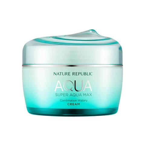 Nature Republic Super Aqua Max Combination Watery Cream увлажняющий крем-гель для комбинированной кожи