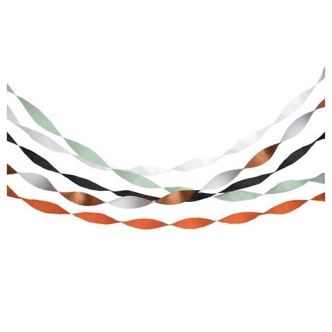 Бумажные ленты на Хэллоуин (в наборе 5 шт)