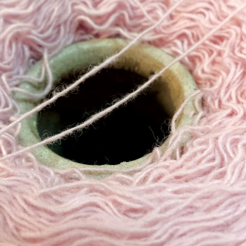 Меринос с кашемиром (30%)  1/14 бледно-розовый
