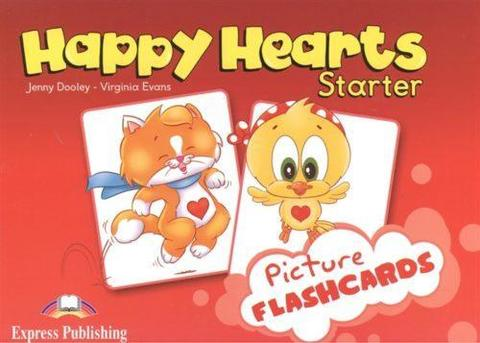 Happy Hearts Starter. Flashcards. Наглядный материал. (international)