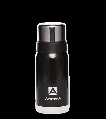 Термос Арктика (106-500 чёрный) 0,5 литра с узким горлом американский дизайн, черный