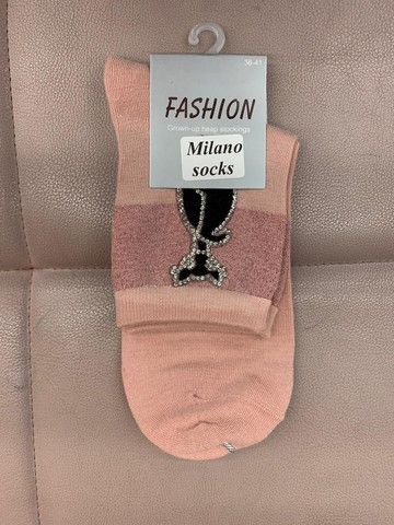 MILANO SOCKS Носки жен. Фэшн микс.