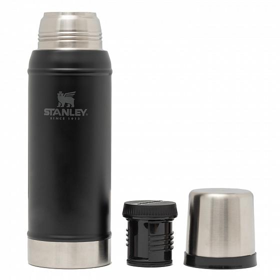 Термос Stanley Classic черный (1 литр) new