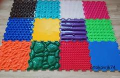Массажный коврик ортопедический развивающий Малыш 12 модулей