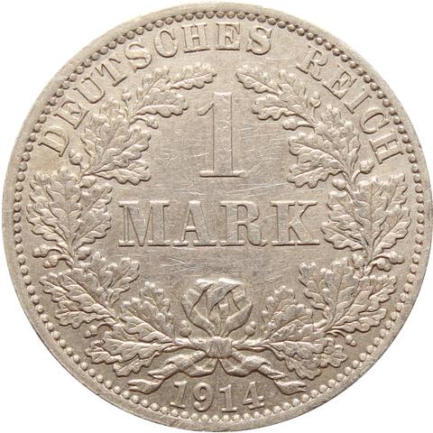 1 марка 1914 (A) Германия XF