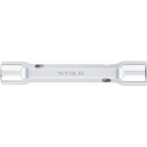 Ключ трубка торцевой усиленный, 16 х 17 мм, CrV Stels