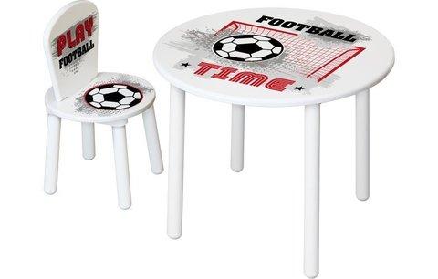 Комплект детской мебели Polini Kids Fun 185 S, Футбол, красный