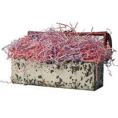 Наполнитель для коробок Бумажный МИКС Розовый фламинго, 100 г, 2 мм