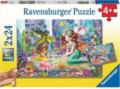 Puzzle Zauberhafte Meerjungfraue 2x24 pcs