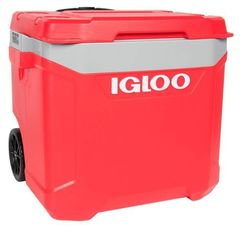 Термоконтейнер Igloo Latitude 60 Roller RLR RED/GRY (56л)
